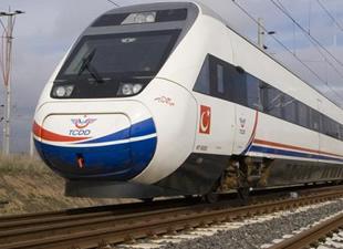Davutoğlu'ndan Elazığ'a hızlı tren müjdesi
