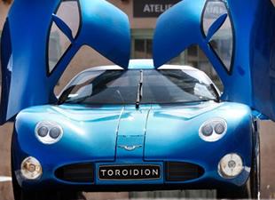 1.341 beygirlik hiper otomobil Toroidion