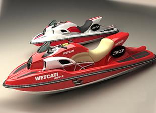 Ducati'den ilham alan 320HP Wetcati dünyanın en hızlısı olmaya aday