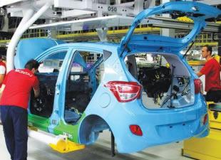 Otomotiv sanayisinde üretim yüzde 28 arttı
