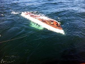 Marmara'da batan teknede kaybolan kişi aranıyor