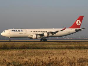 Türk Hava Yolları, uçağının motoru durdu