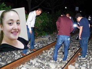 Salihlide genç kız Trenin altında can verdi