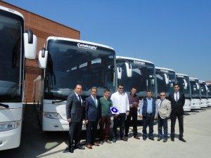 Çolakoğlu Turizm filosunu 10 adet Mercedes-Benz Tourismo 15 RHD ile güçlendirdi
