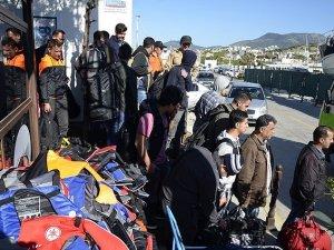 Edirne'de 126 kaçak göçmen yakalandı