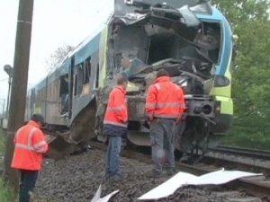 Almanyada tren kazası