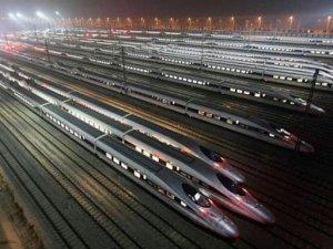 Çin 39 milyar dolarlık demiryolu projelerini onayladı