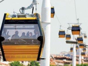 Yenimahalle-Şentepe teleferik hattı açılıyor