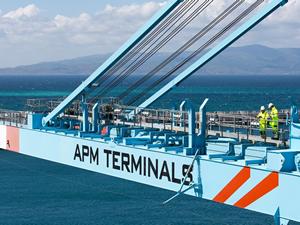 Ege Bölgesi'nin en büyük entegre limanı Petlim'de 1,3 milyon TEU yük elleçlenecek