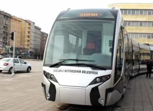 Kocaeli Büyükşehir Belediyesi, İSU'dan alacağı para ile tramvay yapacak