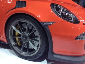 Porsche 911 GT3 RS, Michelin ile yolda
