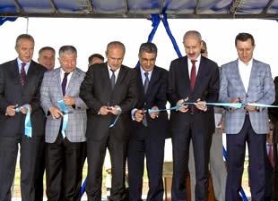 Ankara-İstanbul Lojistik Köprülü Kavşağı açıldı