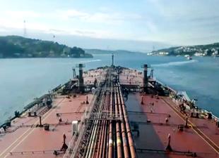 Boğaz tanker geçişlerine kapatıldı