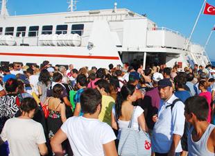 Marmara Adası'na 12 dakikada ulaşılacak