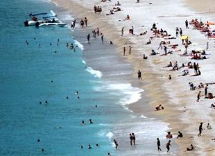 Turist sayısında önemli düşüş