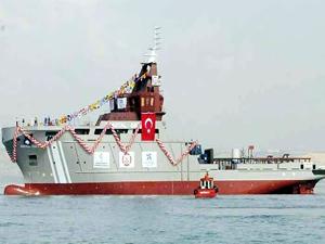 Sefine Tersanesi 'ERV Nene Hatun Acil Durum Müdahale Gemisi'ni Kıyı Emniyeti'ne teslim etti