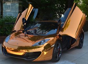 Altın McLaren satılık