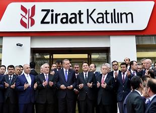 Ziraat Katılım Bankası açıldı