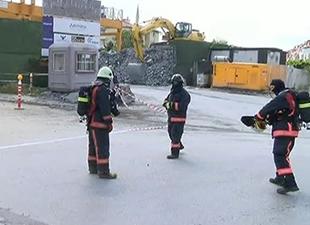 Metro inşaatında patlama!