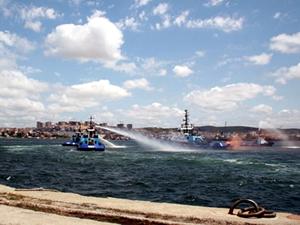 GİSAŞ'tan Tuzla'da, 'Deniz kirliliğine hazırlıklı olma ve acil müdahale tatbikatı