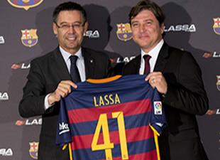 Lassa, Barceolana'ya partner oldu