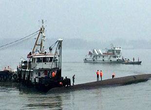 Gemi kazasında 456 kişiden 14'ü kurtarıldı