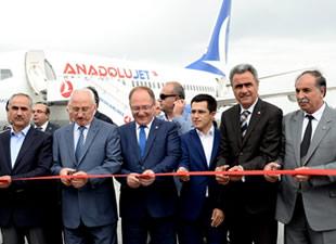 Anadolujet Ankara-Sivas seferlerine başladı