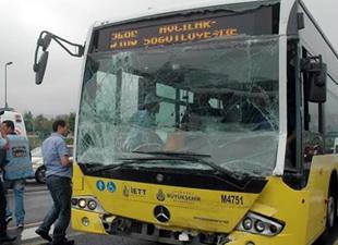Balat Ayvansaray'da Metrobüs kazası