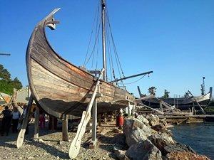 Urla'daki Roma limanı aynı yerinde yeniden inşa edilecek