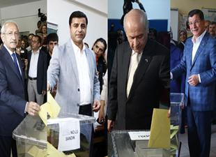25. Dönem Genel Seçimleri sonuçlandı, işte milletvekillerinin isimlerinin tam listesi