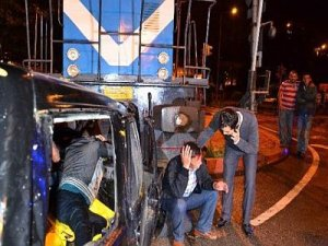 Zonguldak'ta tren kazası tatbikatı