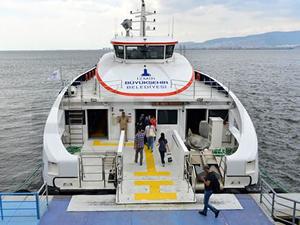 İzmirliler, deniz ulaşımından çok memnun