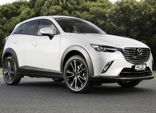 Mazda CX-3'le gaza basıyor
