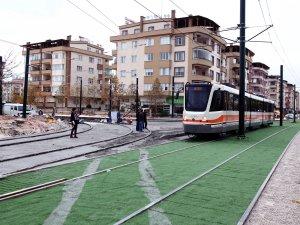 Karataş'a tramvay seferi bir süre yapılmayacak