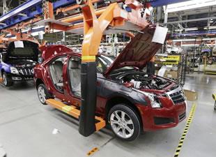 Otomotiv eylemleri üretimi düşürdü