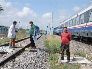 Tarsus'ta tren kazası: 1 ölü