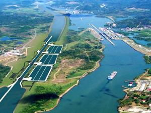 Panama Kanalı'nı nda gemi trafiğini 3 katına çıkaracak genişletme çalışmalarında sona gelindi