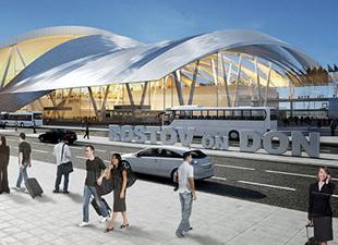 Rostov Havalimanı inşaatı Limak'ın