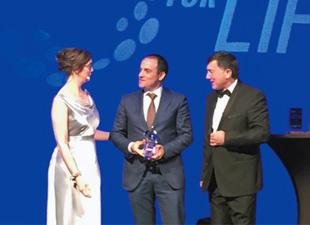 Cengiz Enerji'ye Avrupa'dan ödül