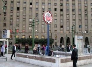 Tahrir metro istasyonu iki yıl aradan sonra açıldı