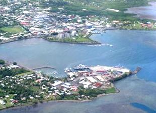 Japonya'dan ada ülkesi Samoa'nın tek ticaret limanı Apia'ya dev yatırım