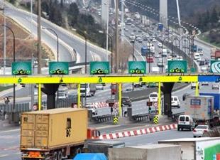 Köprü ve otoyol gelirleri 355 milyon lirayı geçti