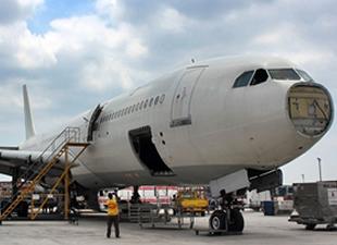 Sahibinden dekor amaçlı satılık Airbus uçak