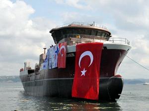 Cemre Tersanesi Norveç için inşa ettiği 34. gemiyi denize indirdi