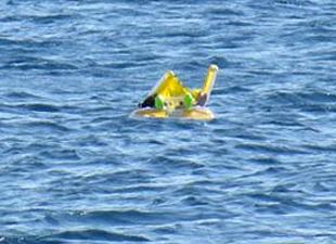 İnanılır gibi değil; 10 aylık bebeği Sahil Güvenlik kurtardı