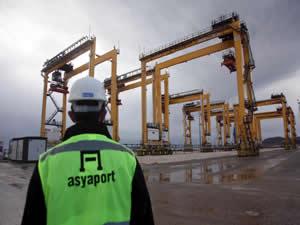 450 milyon $'lık Asyaport'a ilk gemi bugün yanaşıyor