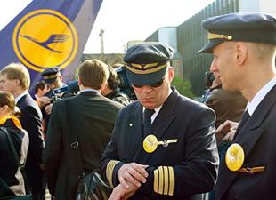 Lufthansa'da grev sinyalleri