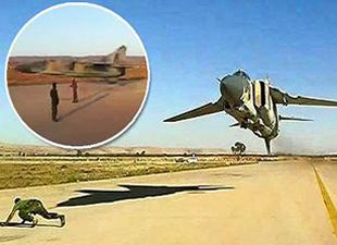Libyalı pilottan muhteşem gösteri