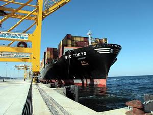Asyaport Limanı ilk misafiri MCS Tokyo'yu ağırladı