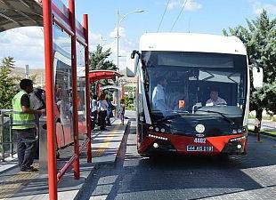 Trambüs üç ayda 1 milyon 200 bin yolcu taşıdı